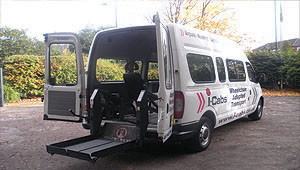 Minibus for Hospital Appointments